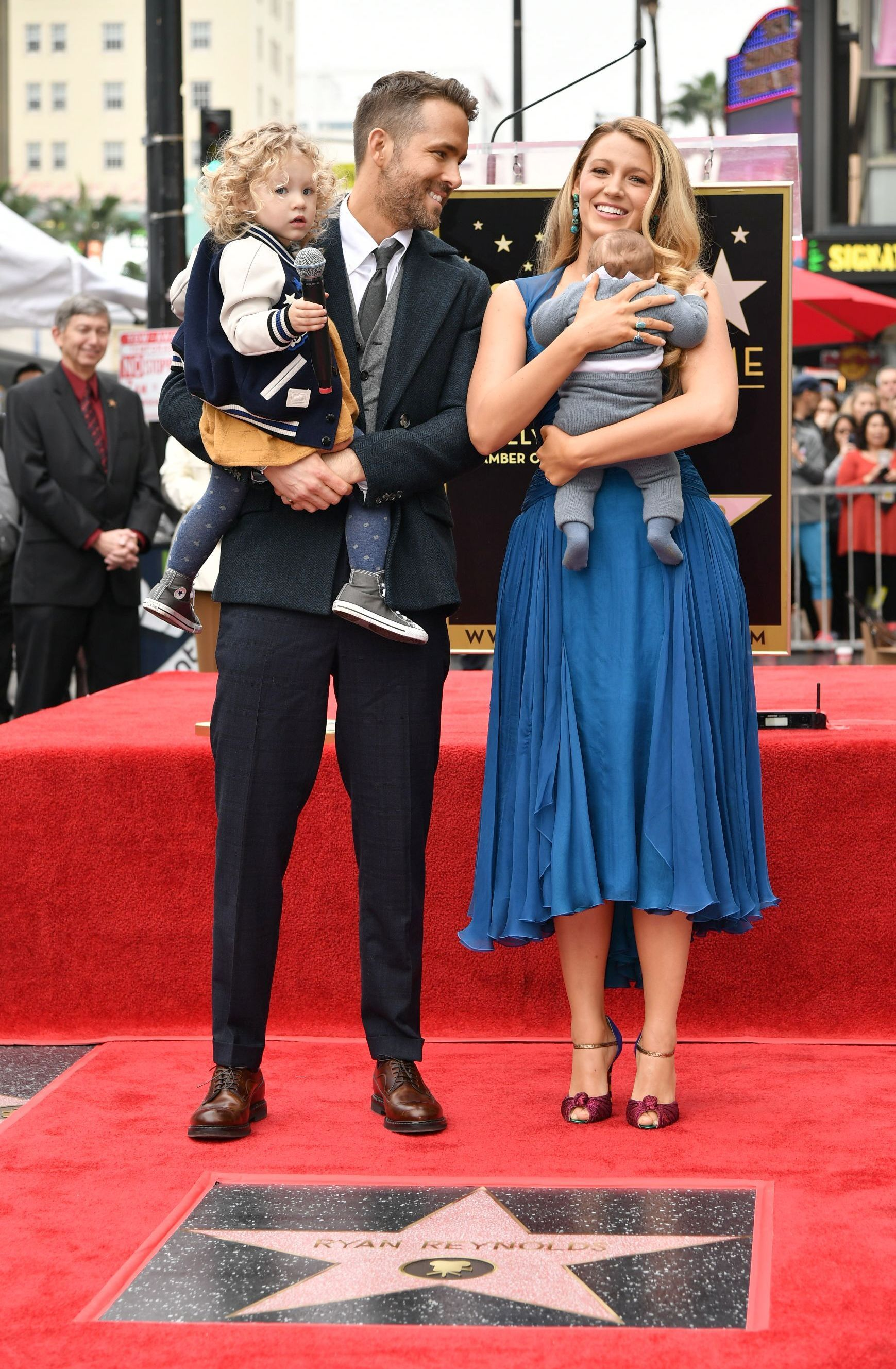 [UPDATED] OMG Blake Lively and Ryan Reynolds' Kids Just Made Their Public Debut