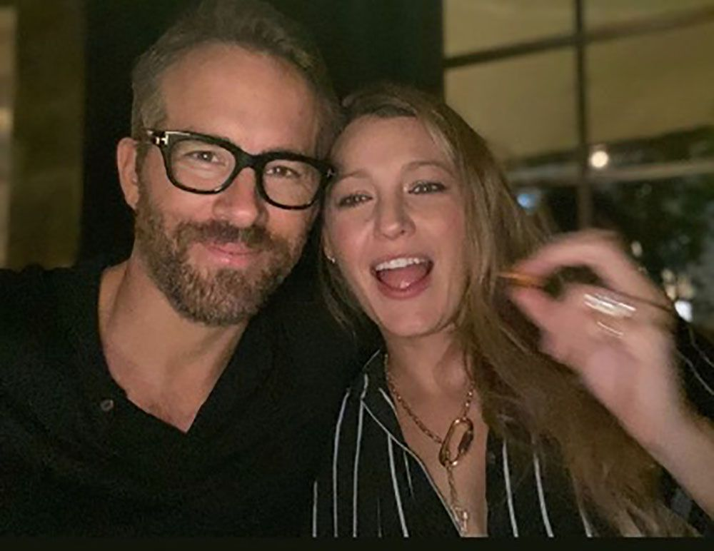 Blake Lively And Ryan Reynolds Just Posted A Rare Photo Together At A New York City Restaurant