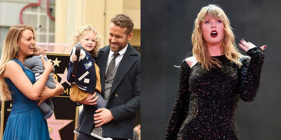 Blake Lively and Ryan Reynolds Freaked Out When Taylor Swift Played Their Daughter's Voice at Her Concert