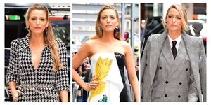 Blake Lively in three of her looks
