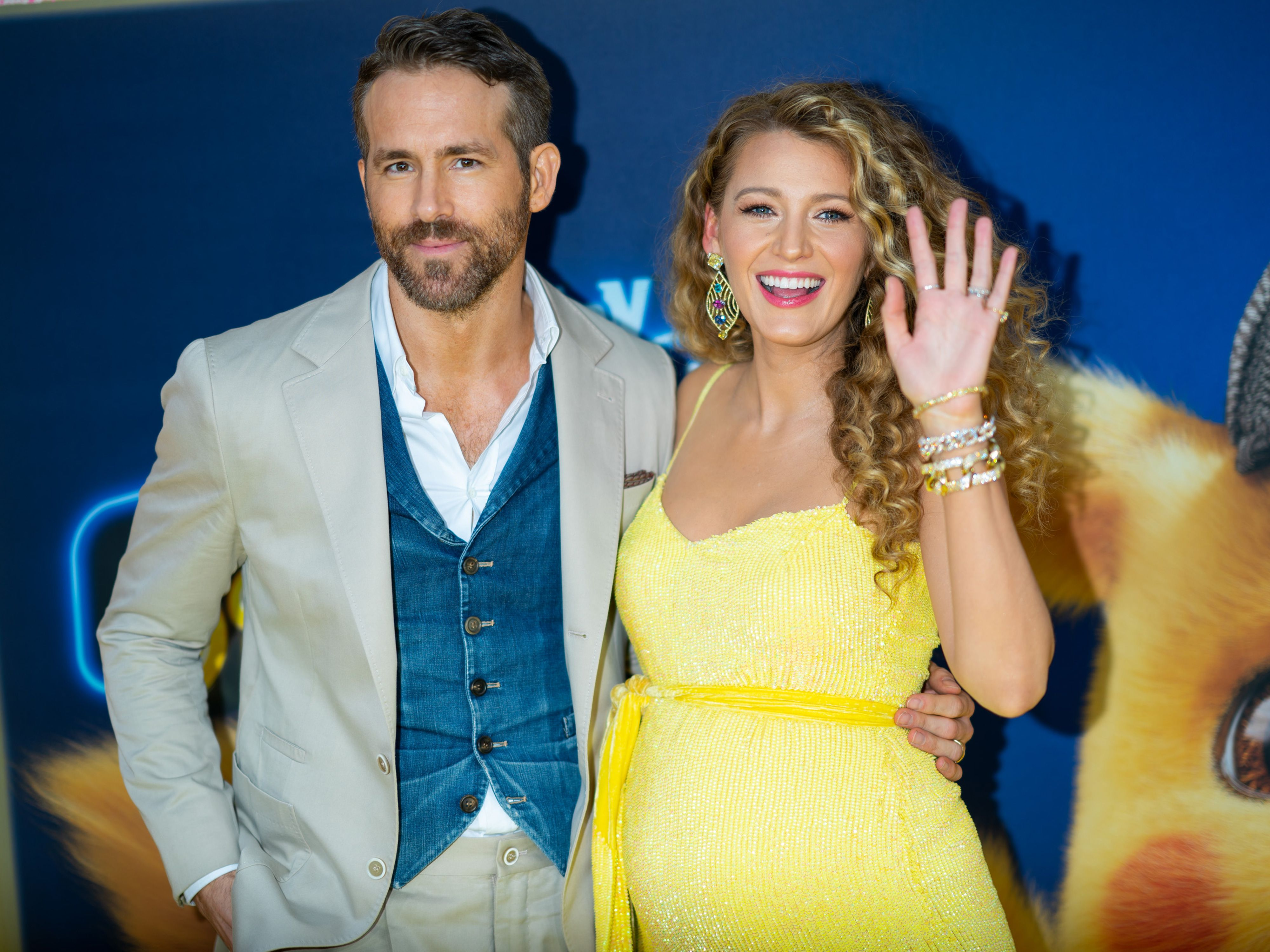 Blake Lively and Ryan Reynolds welcome baby number three