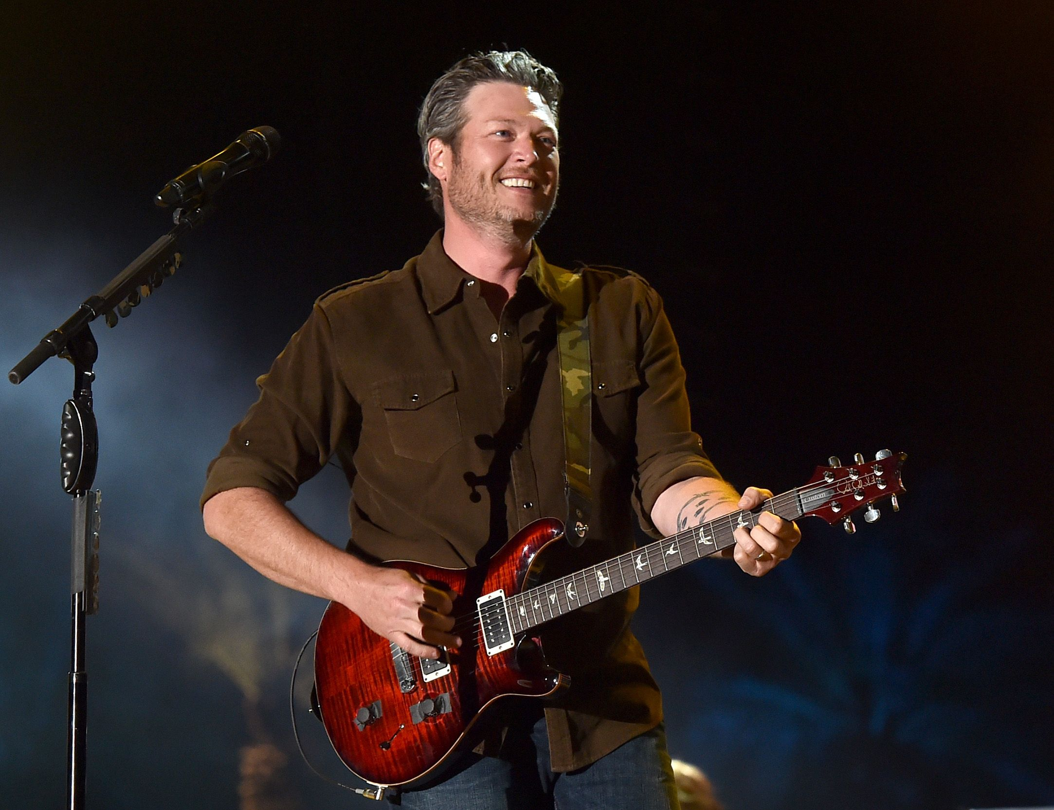 Everyone's Obsessed With Blake Shelton's New Song 'Jesus Got a Tight Grip'