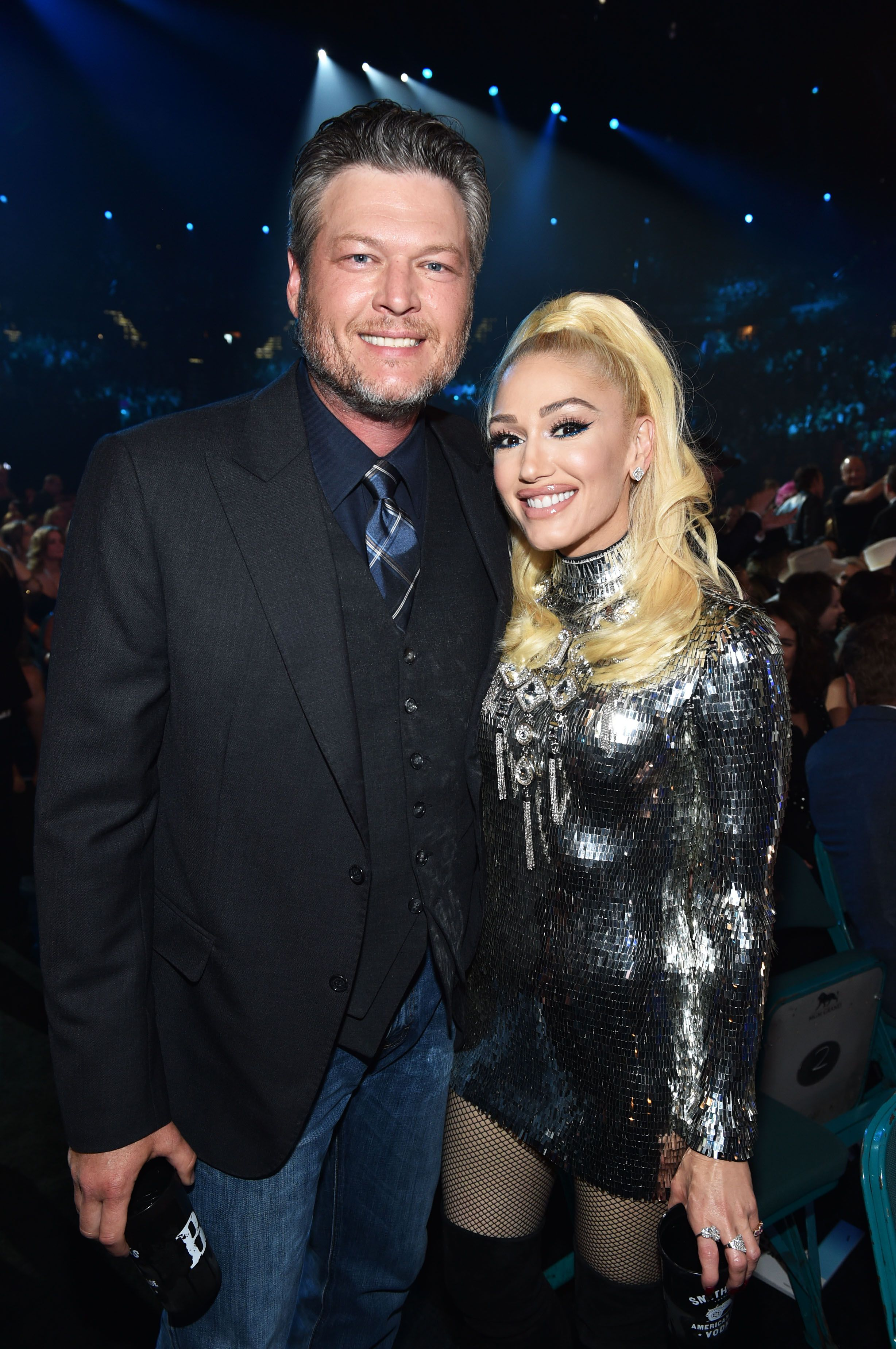 14aee26c84418 Blake Shelton and Gwen Stefani Were the Cutest Couple at the ACM Awards