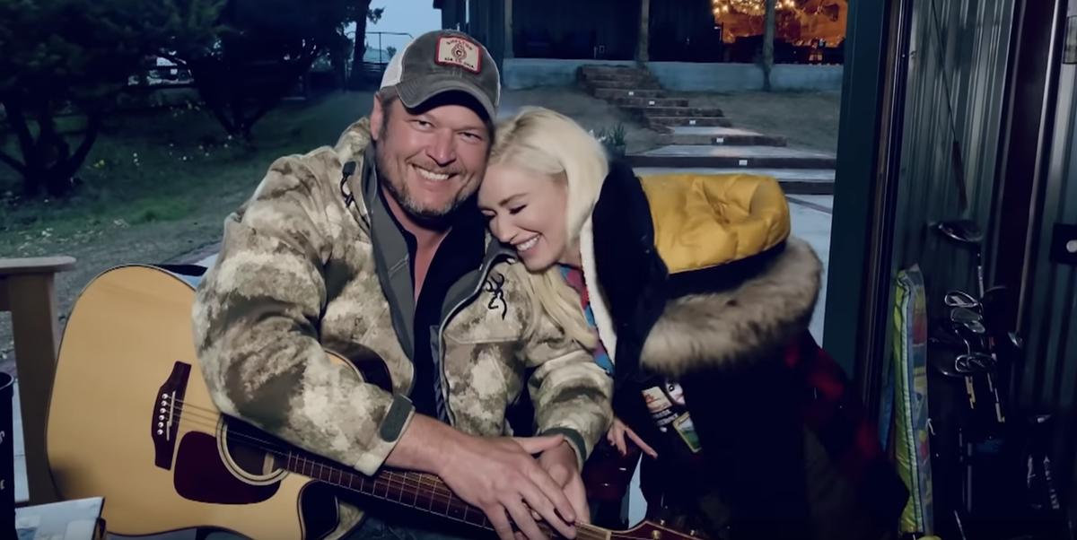"""Blake Shelton and Gwen Stefani Sang an Acoustic Version of """"Nobody But You"""" and We're Emotional"""