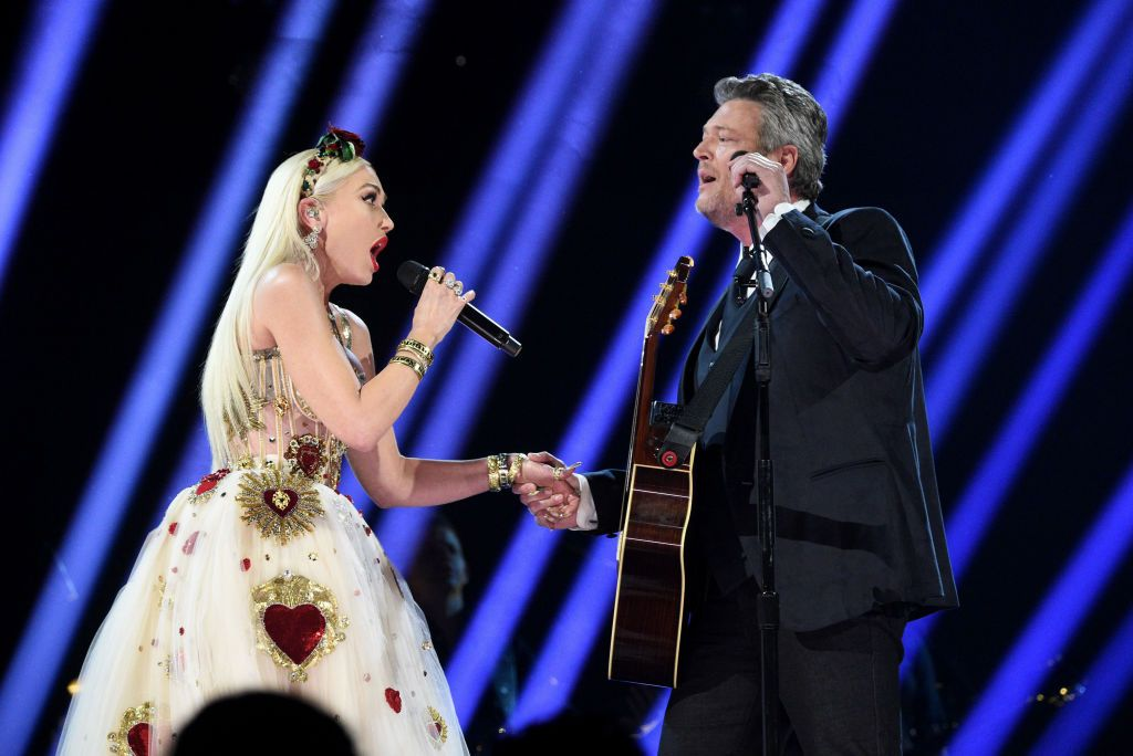 Blake Shelton and Gwen Stefani's Grammys Duet Had a Crazy Detail We Totally Missed