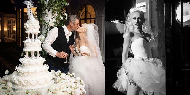 blake shelton gwen stefani wedding pictures