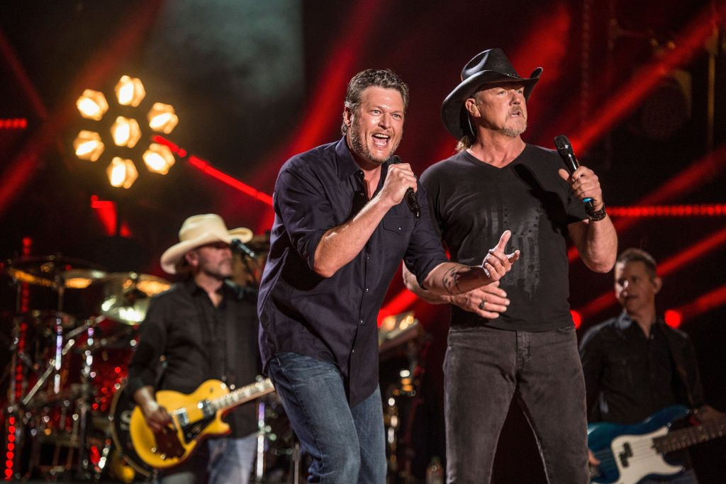 'The Voice' Coach Blake Shelton Just Officiated Country Star Trace Adkins' Wedding