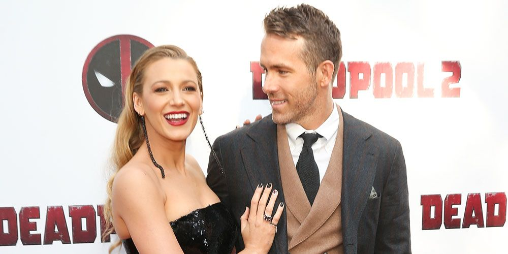 Blake Lively and Ryan Reynolds at the Deadpool 2 premiere