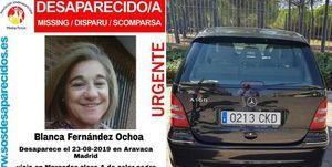 Blanca Fernández Ochoa, Blanca Fernández Ochoa desaparecida, Blanca Fernández Ochoa policia