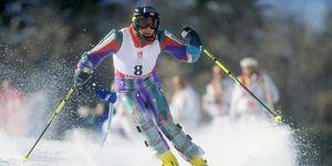 Blanca Fernández Ochoa en los Juegos Olímpicos de invierno de 1992 en Albertville, Francia.