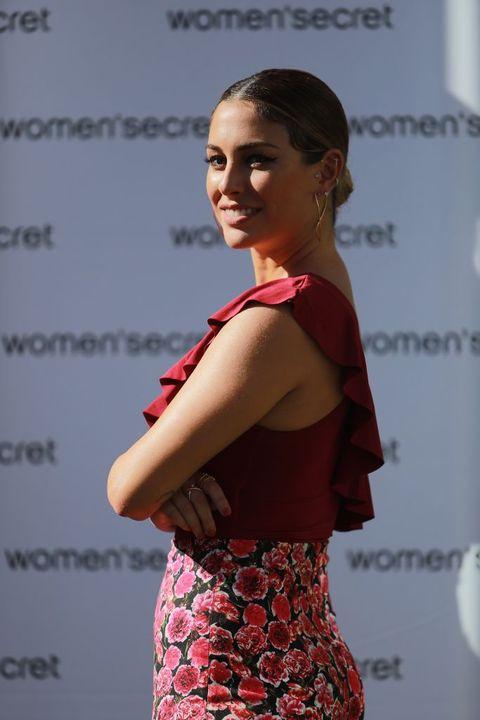 Blanca Suárez con look de Women'secret.