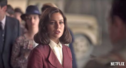 blanca suárez en el trailer de la quinta temporada de 'las chicas del cable'