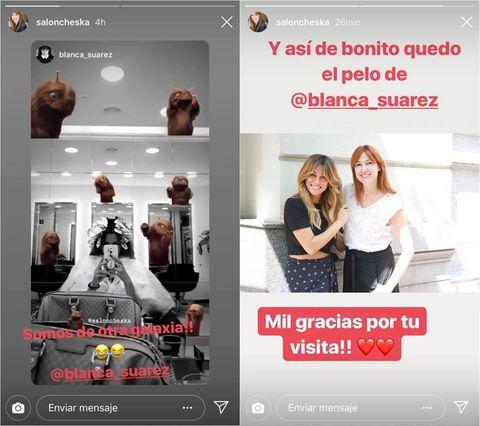 2bdc15b43 Blanca Suárez pasa por la peluquería y este es el resultado - El ...