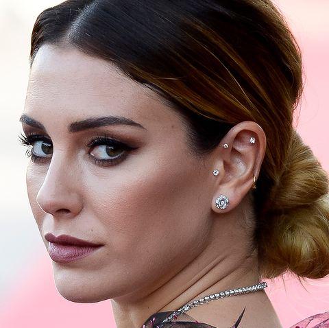 Blanca Suárez pinzas perlas Zara