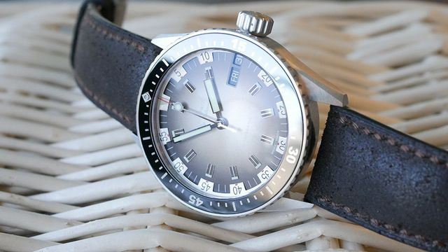 The Blancpain Fifty Fathoms Bathyscaphe Day Date Seventies