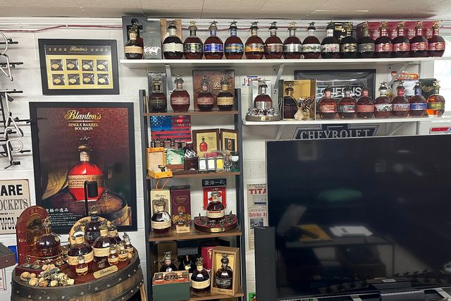 collection of blantons