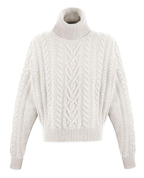 blaze maglione con trecce tendenza moda inverno 2021