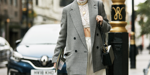 Street fashion, Fashion, Automotive design, Outerwear, Snapshot, Blazer, Car, Vehicle, Suit, Hatchback,