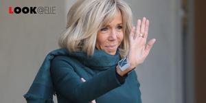 Blazer doppiopetto moda 2019 Brigitte Macron