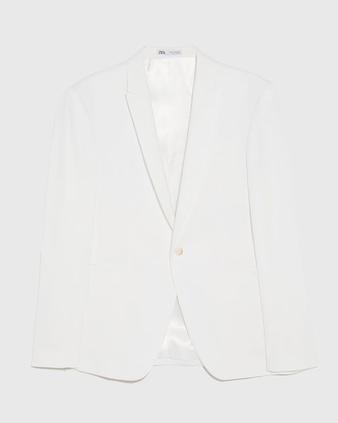 Blazer blanca de Zara