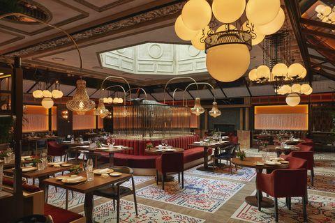 Restaurante Etxeco del BLESS Hotel Madrid