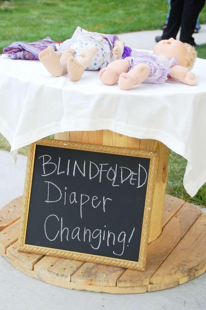 Diaper Baby Arts And Crafts Idea