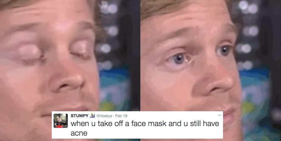 17 Tweets That Prove That GIF of a Dude Blinking Is the Most Relatable Meme Ever