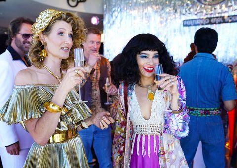Event, Yellow, Fashion, Tradition, Costume, Fashion accessory, Ceremony, Performance, Festival, Tourism,