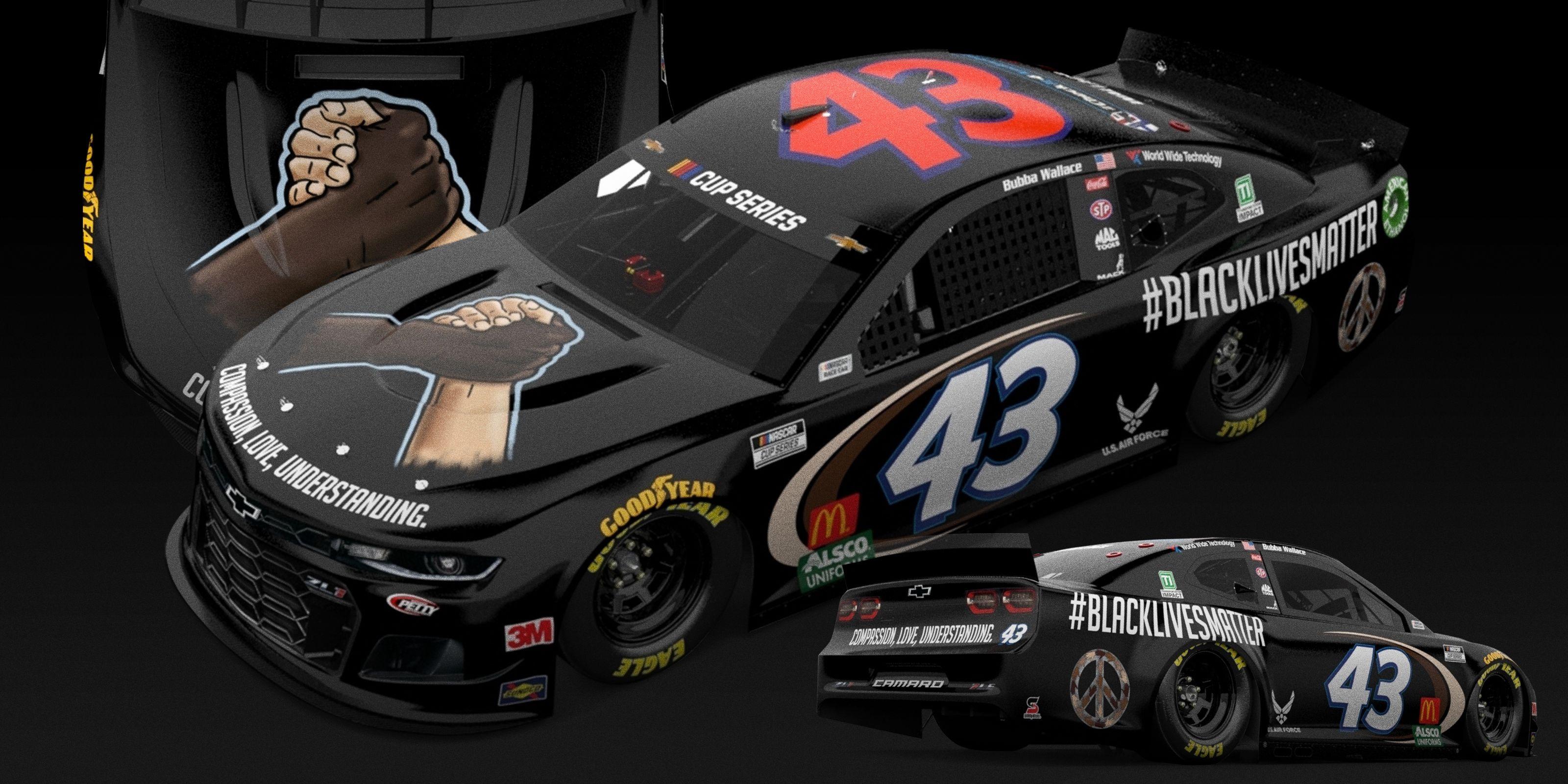 Bubba Wallace To Race Blacklivesmatter Car