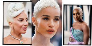 Bleached Blonde Hair Colour Ideas