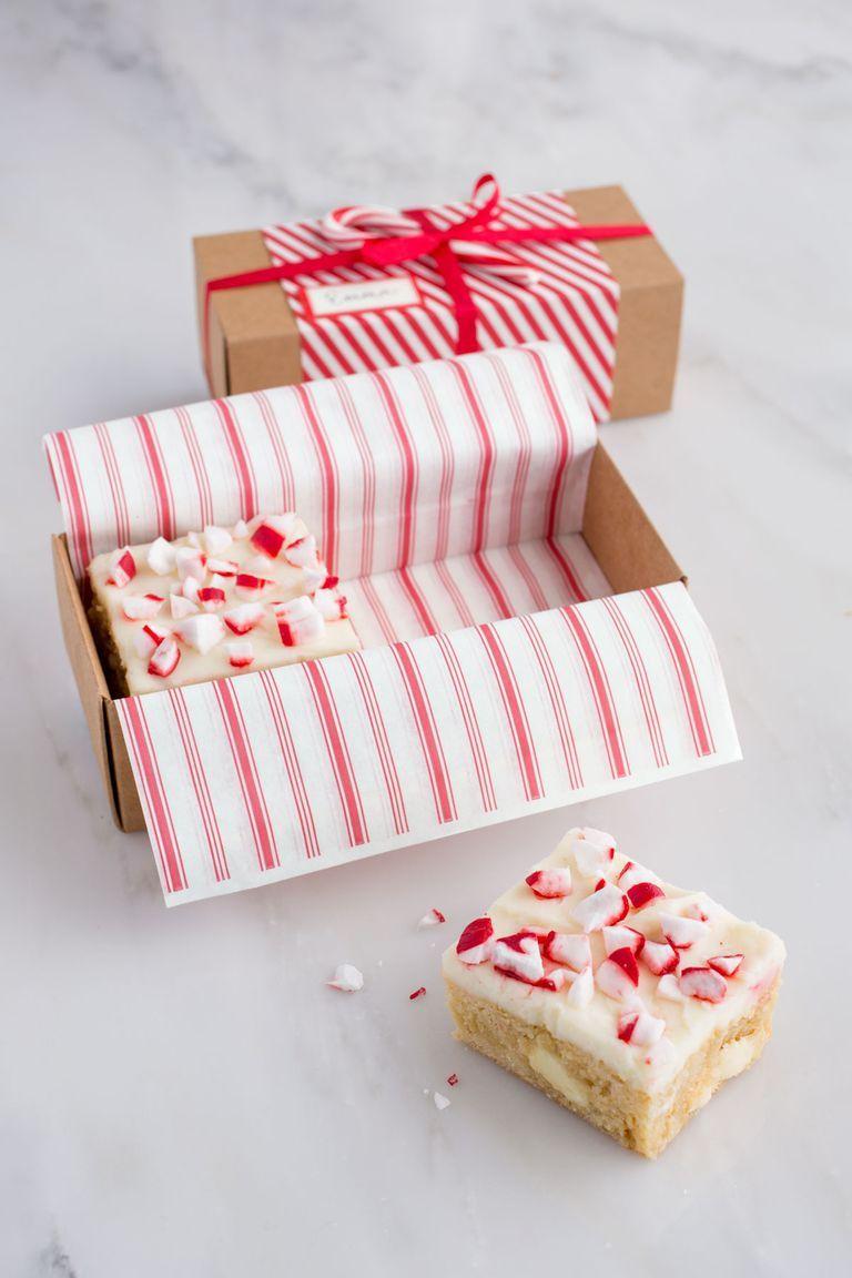 blondies christmas food gift