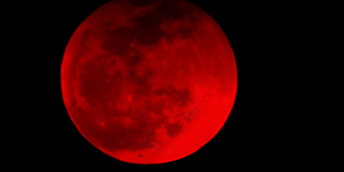 blood red wolf moon eclipse - photo #14