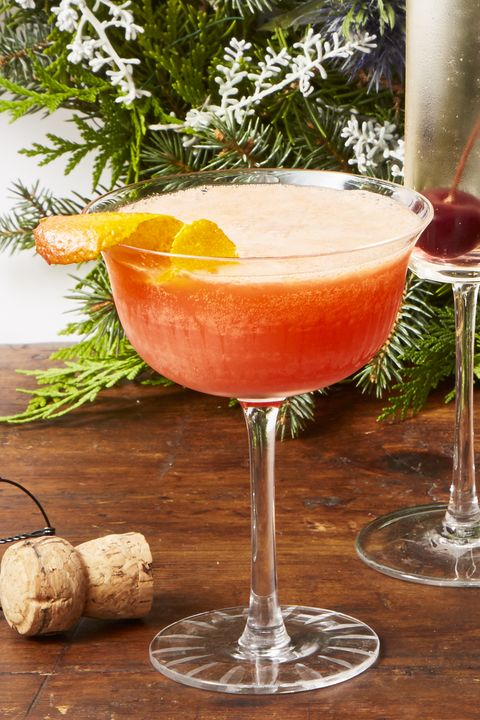 Blood Orange Spritz - Christmas Cocktails