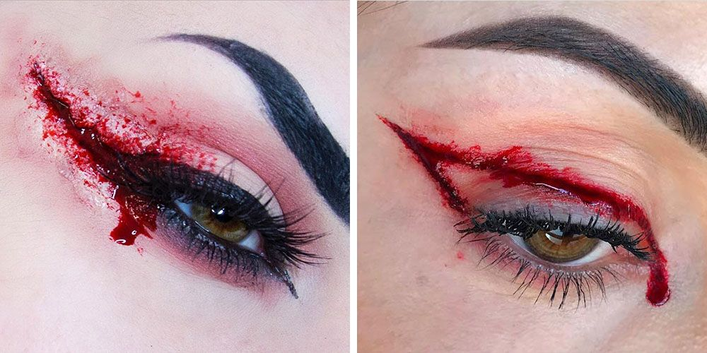 Bloody Eyeliner Is This Year's Creepiest Halloween Look