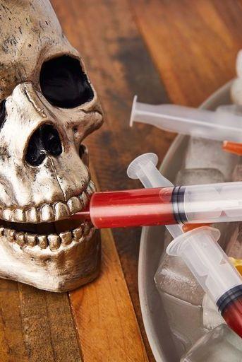 blood syringe halloween treat recipe