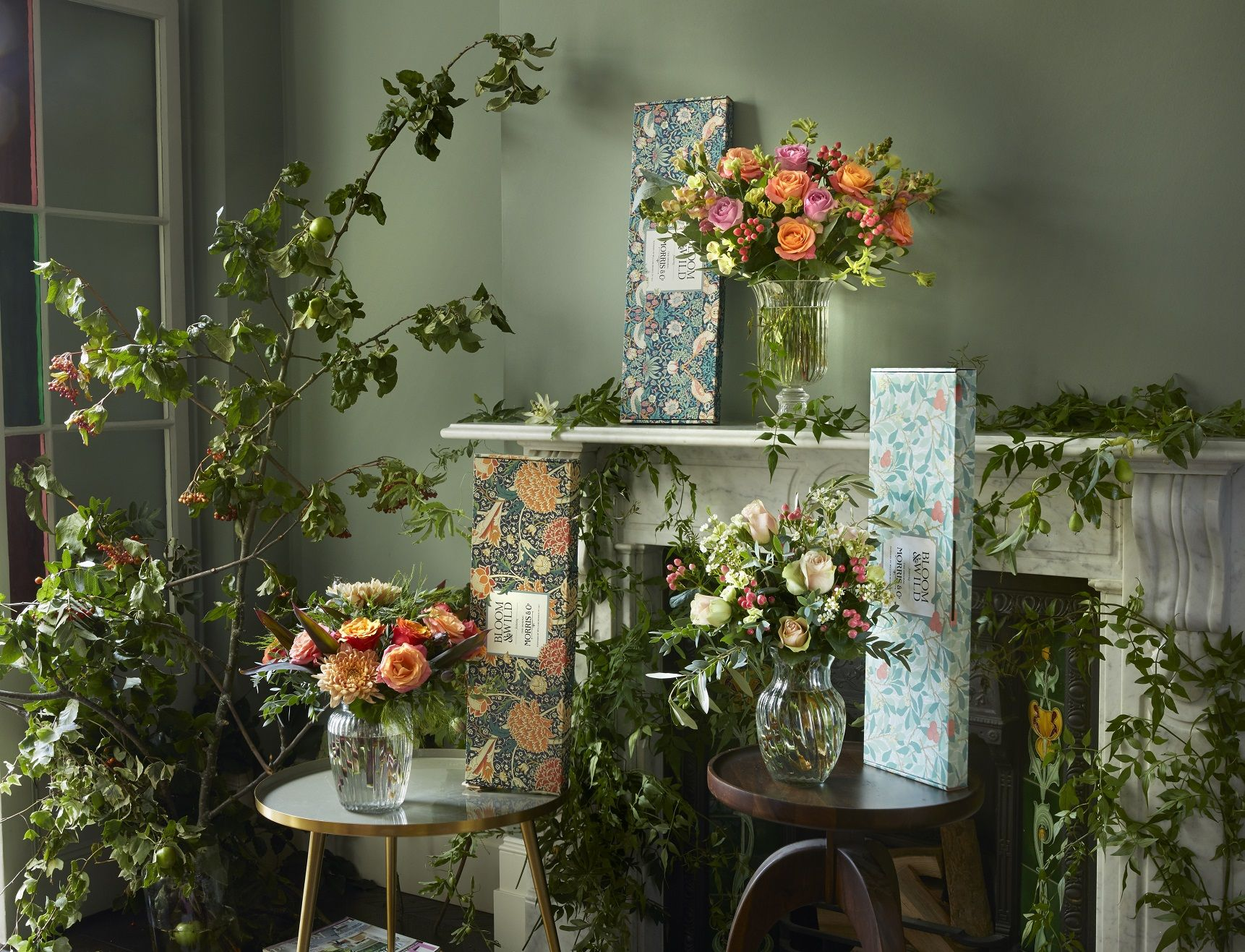 Bloom & Wild announces flower collaboration with Morris & Co