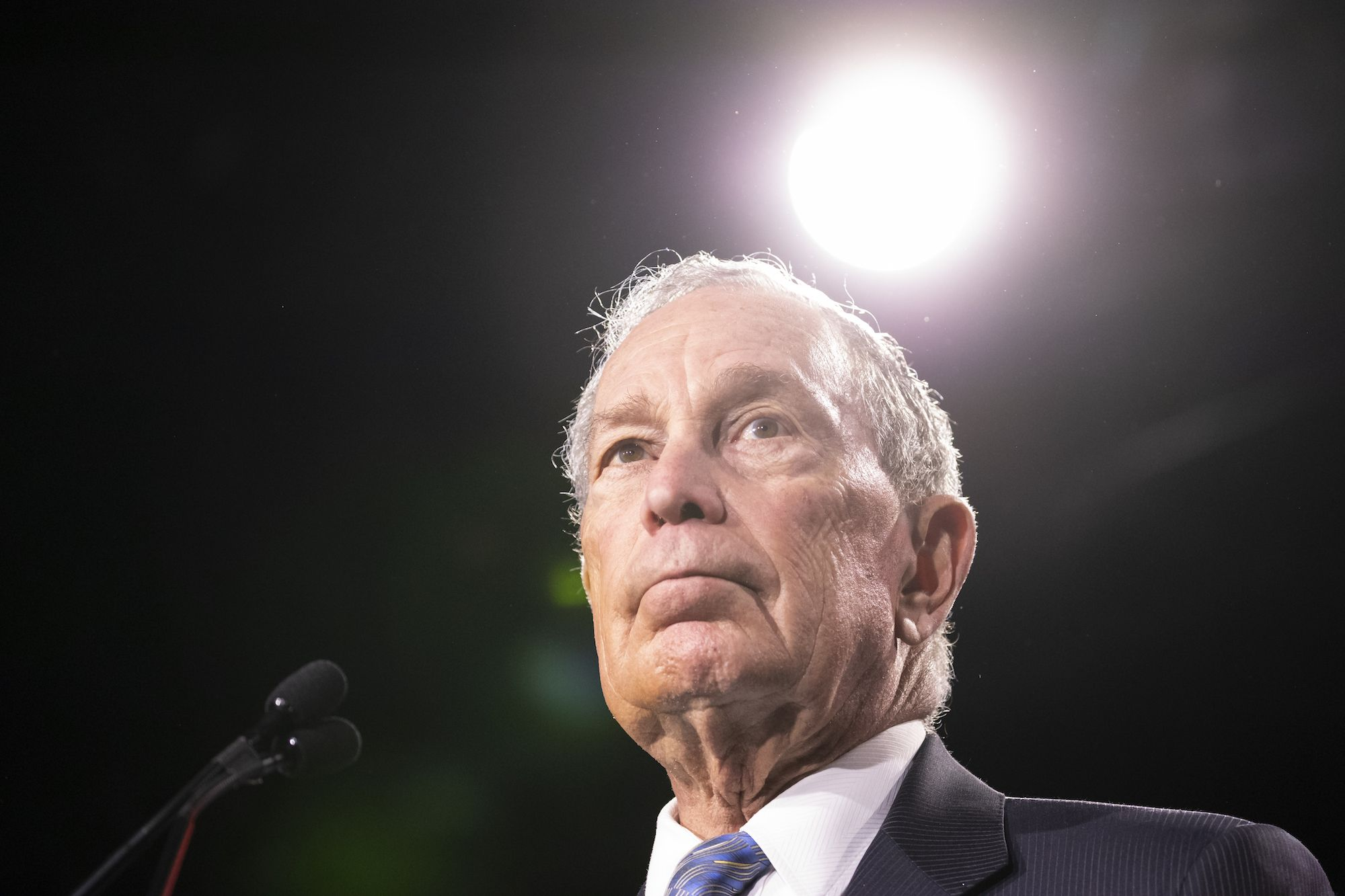 Michael Bloomberg's Anti-Trump Superhero Cosplay Will Only Go So Far—Right?