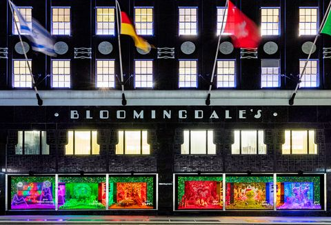 bloomingdales holiday windows 2020