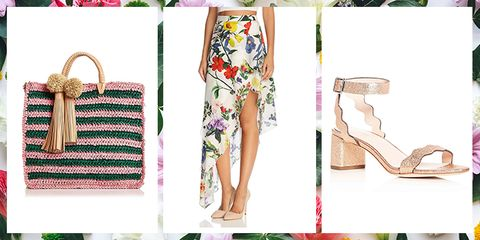 Clothing, Footwear, Pink, Fashion, Shoe, Summer, Dress, High heels, Leg, Room,