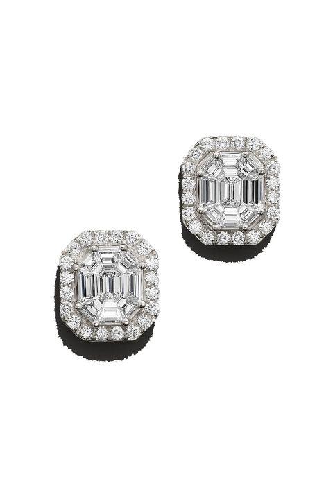 Diamond, Fashion accessory, Jewellery, Gemstone, Platinum, Silver, Metal, Jewelry making, Silver, Body jewelry,
