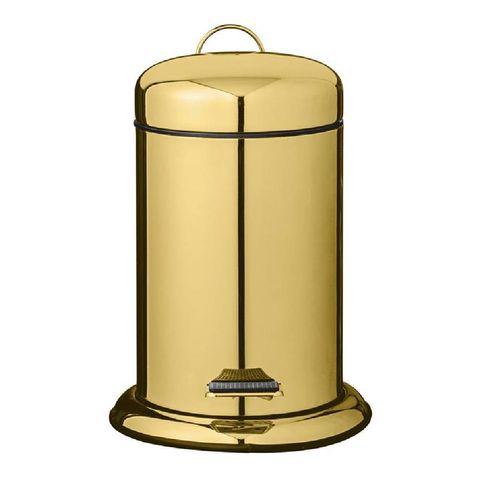 bloomingville gouden pedaalemmer 3 liter