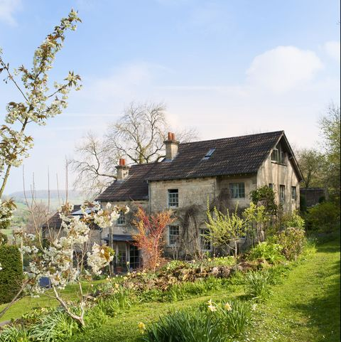 Hilltop cottage interiors