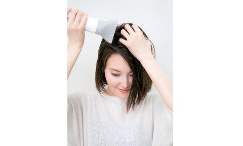 薄毛対策のスタイリング