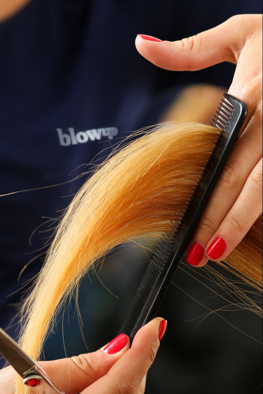 Blow LTD hair cuts at home