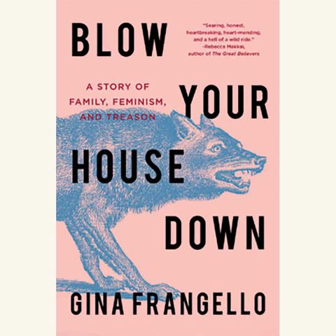 blow your house down, a story of family, feminism, and treason, by gina frangello