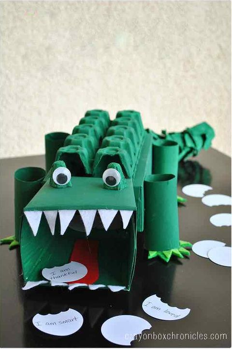 Alligator Valentine's Box