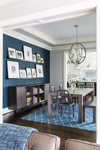 60 Stylish Blue Walls - Ideas for Blue Painted Accent Walls