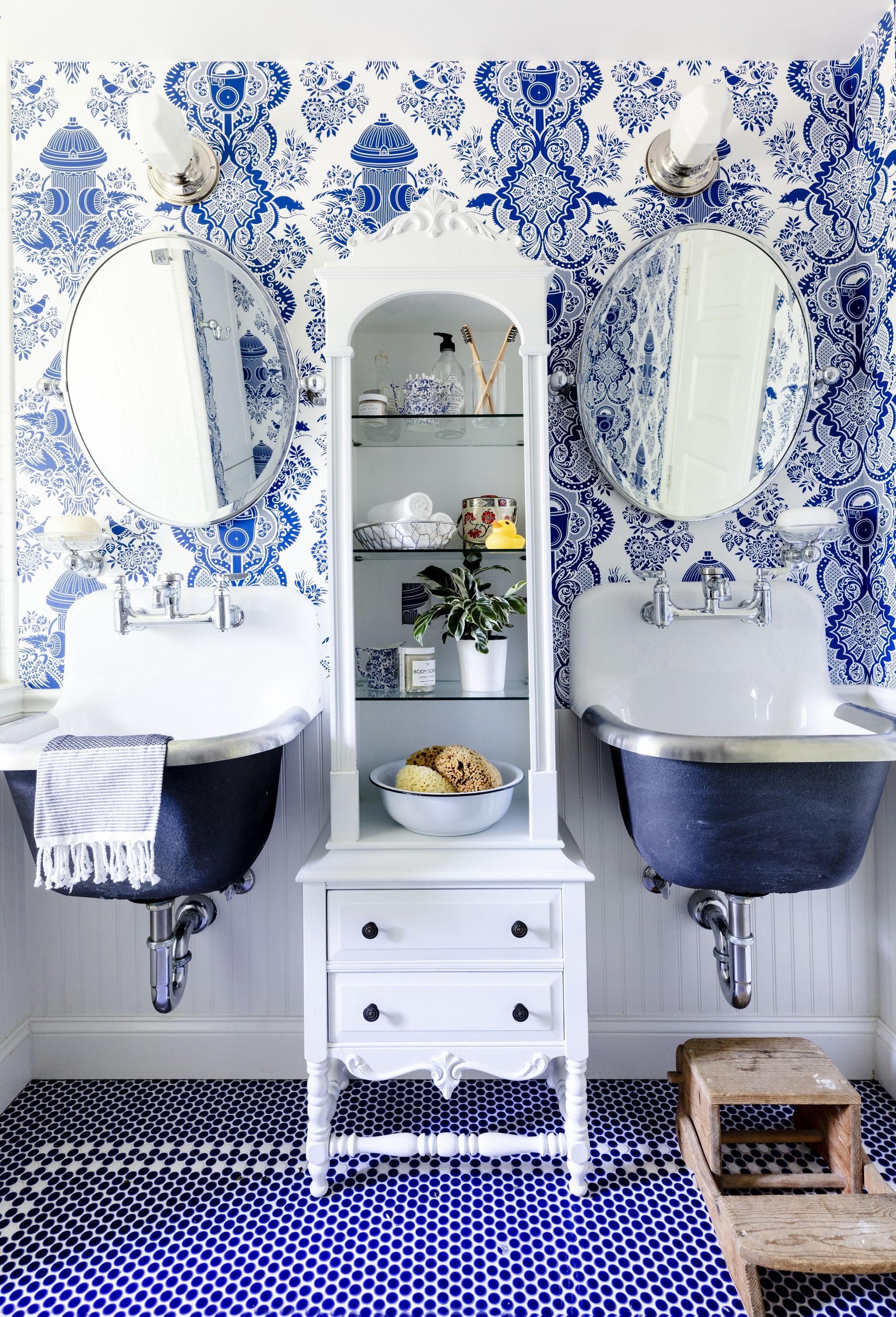 25 Bathroom Wallpaper Ideas Best Wallpaper For Bathrooms
