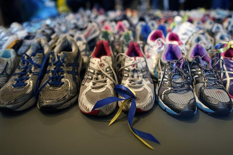 'Dear Boston' Marathon Memorial