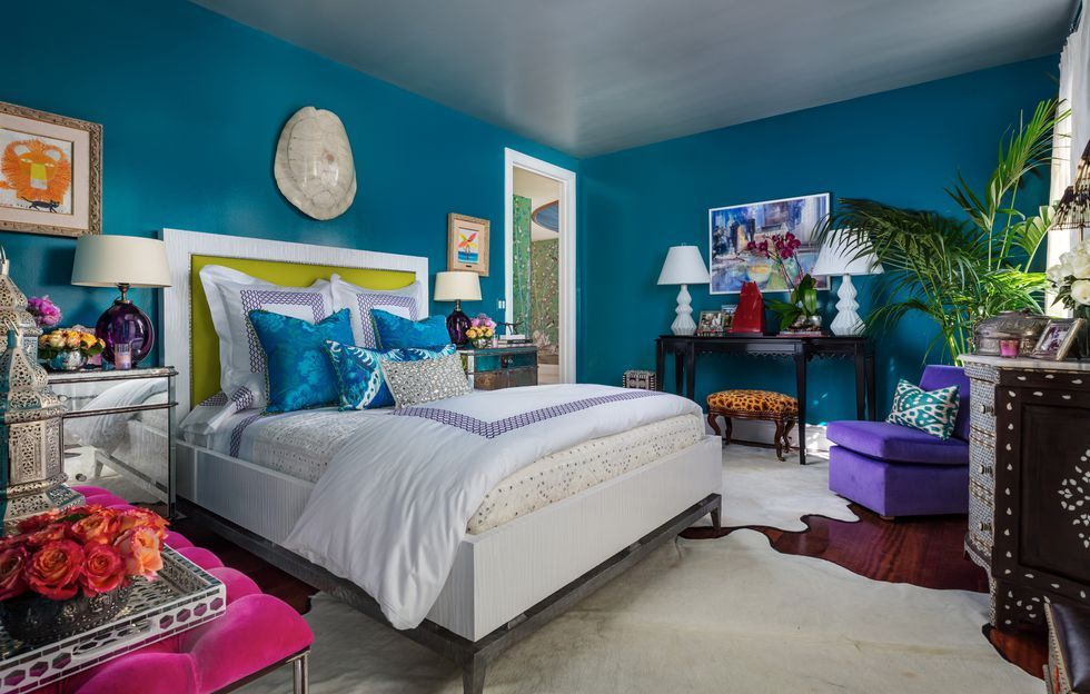 Best Blue Bedrooms Blue Room Ideas - Blue-bedroom-interior